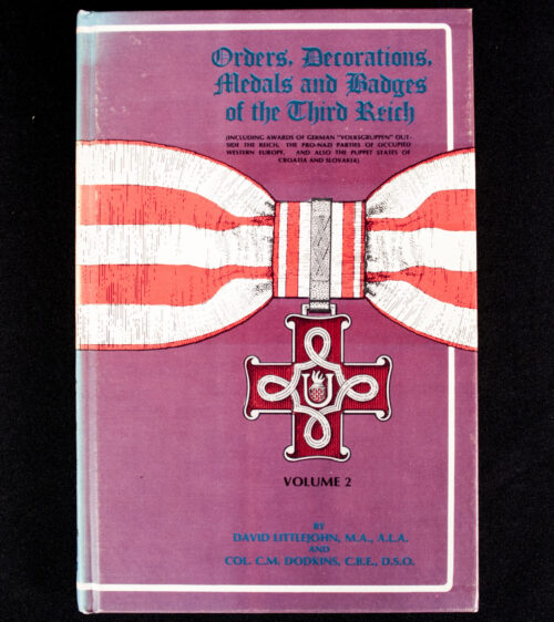 (Book) Orders, Decorations, Medals and Badges of the Third Reich, Volume 2