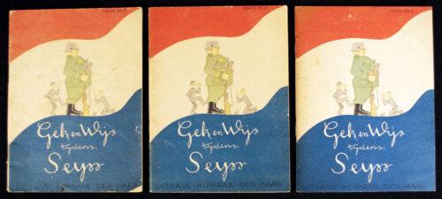 (Booklet) Gek en Wijs tijdens Seyss (3 for the price of one!)