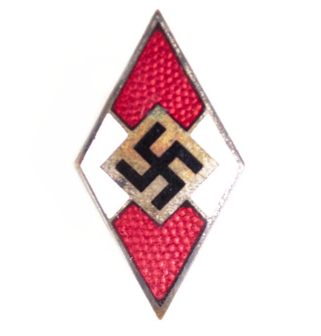 Hitlerjugend (HJ) Memberbadge by RZM maker M178 (Paulmann & Crone)