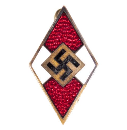 Hitlerjugend (HJ) Memberbadge by RZM maker M190 (Apreck & Vrage)