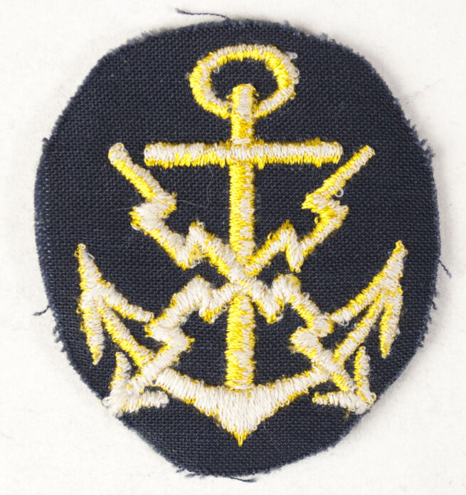 Kriegsmarine (KM) Fernschreibmaat Laufbahnabzeichen