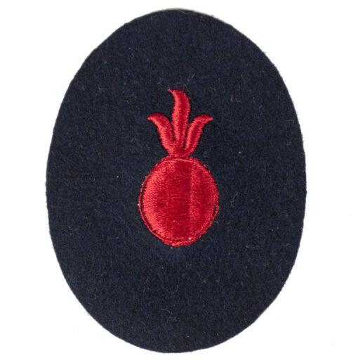 Kriegsmarine (KM) Geschützführer für Küstengeschütze (Truppenausbildung) abzeichen