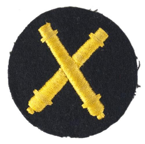 Kriegsmarine (KM) Waffenoffiziere (Artilleriewaffen) abzeichen