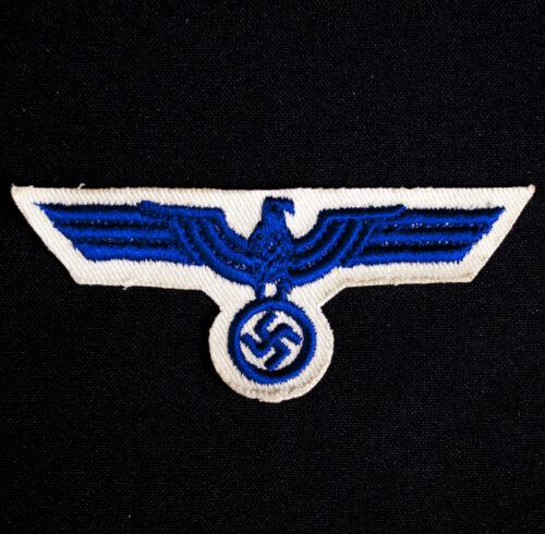 Kriegsmarine (KM) WhiteBlue Enlisted Breasteagle