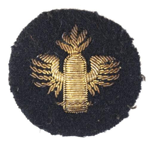 Kriegsmarine (KM) marineartillerielaufbahn abzeichen in bullion