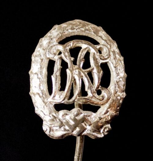 Miniature Deutsches Reichssportabzeichen (DRL) in Silver (maker Wernstein)