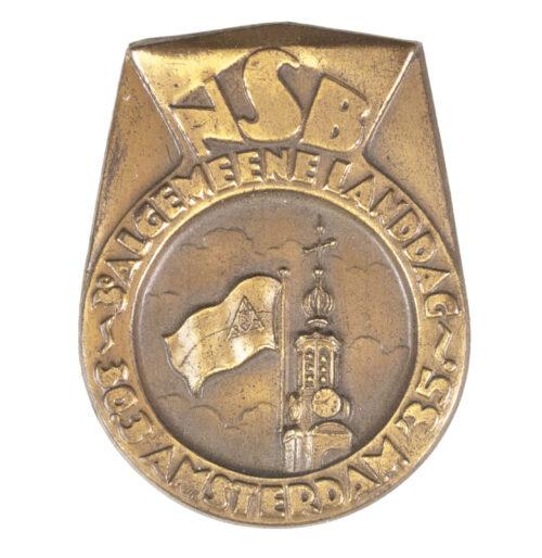 (NSB) 3e Algemeene Landdag Amsterdam 30-3-1935 badge