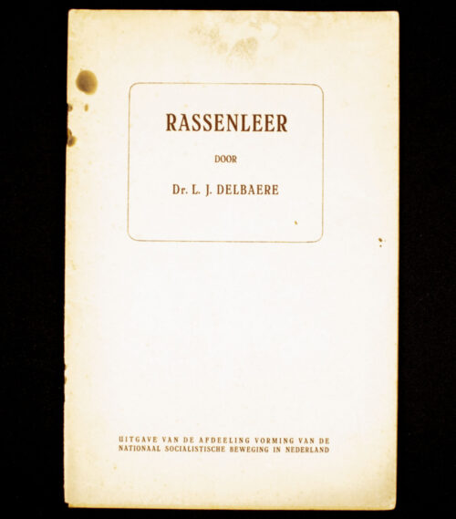 (NSB Brochure) Rassenleer
