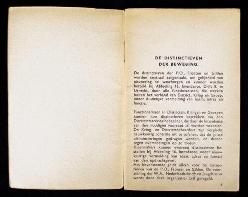 (NSB) Distinctieven der Beweging booklet