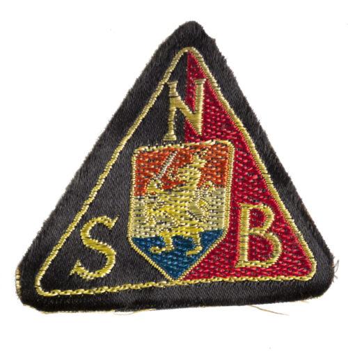 (NSB) Machine woven arm badge