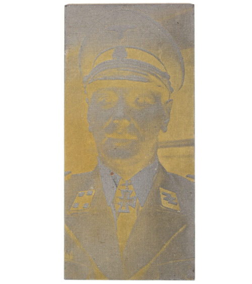 "Original newspaper photo ""Druckplatte"" (printing plate) of SS Standartenführer Otto Skorzeny"