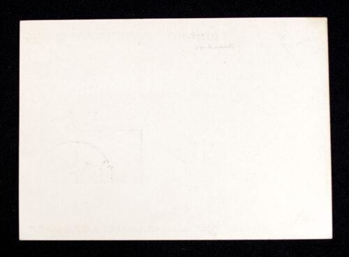 (Postcard) K.D.F. Sammlergruppen - 6. W.H.W. Reichsstrassensammlung 29.-31.3.1940