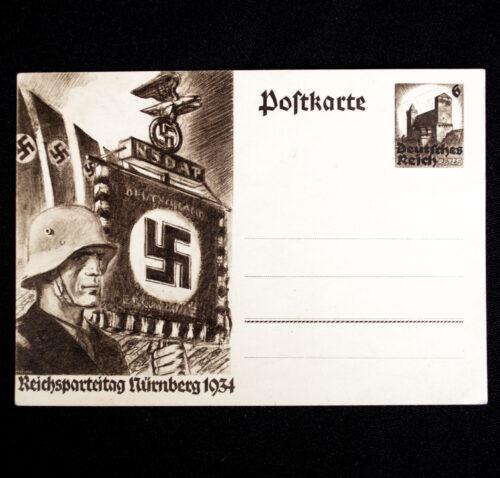 (Postcard) Reichsparteitag Nürnberg 1934