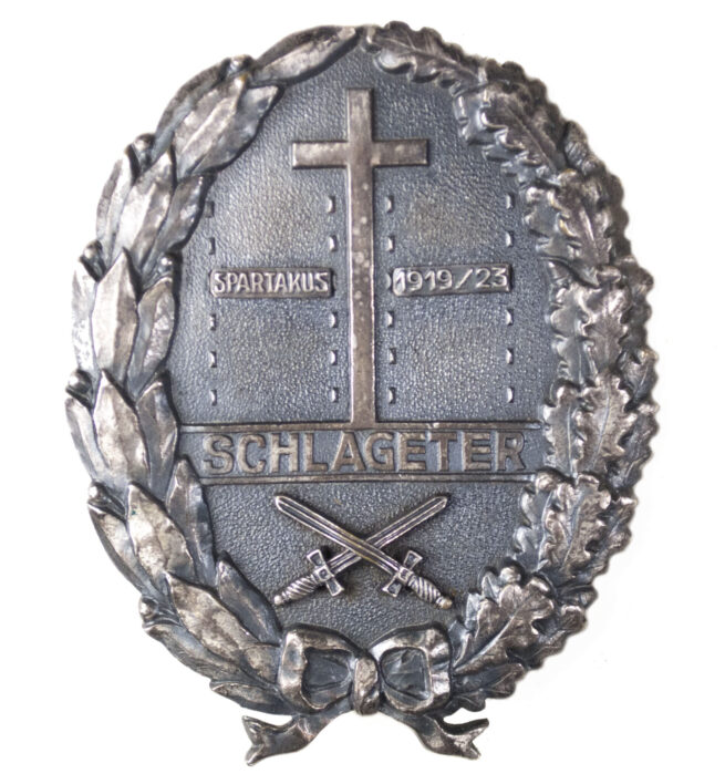 Schlageter Shield second Form with Spartacus 191923 clip