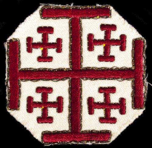(Vatican) cloth emblem of the Holy Sepulcher