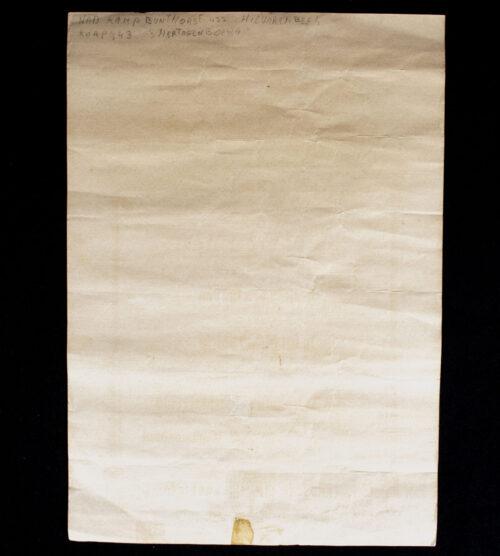 WOII Nederlandsche Arbeidsdienst (NAD) Arbeidsdienstplicht Service Citation 1943