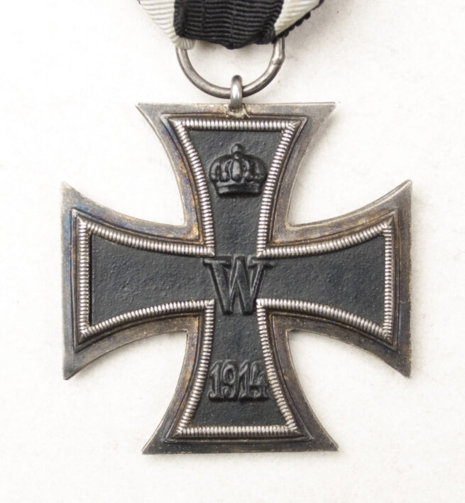 WWI Eisernes Kreuz Zweite Klasse Iron Cross second class (Ek2) – maker marked