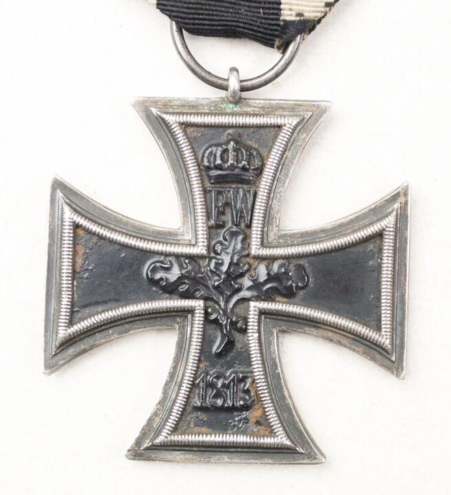 "WWI Eisernes Kreuz Zweite Klasse Iron Cross second class (Ek2) – maker marked ""WS"""
