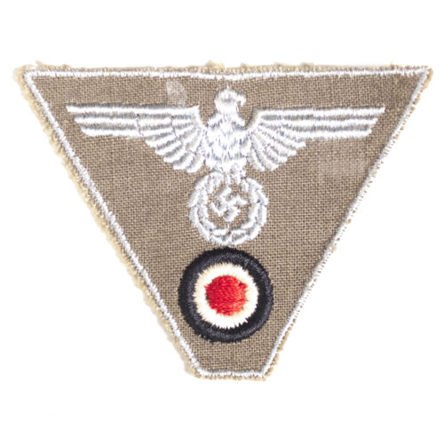 WWII DAK Tropical Trapezoid Eagle for M43 cap