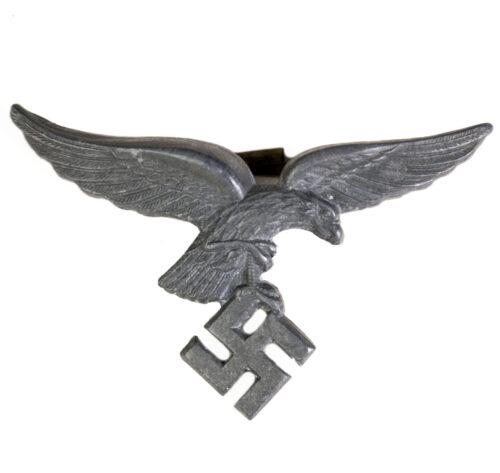 WWII German Luftwaffe visor cap badge eagle