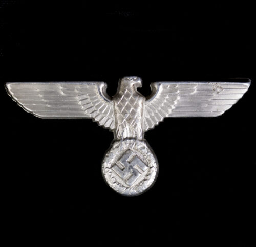 WWII German cap badge eagle (RZM M172 marked)