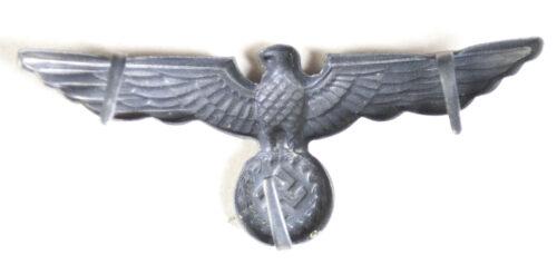 WWII German visor cap badge eagle