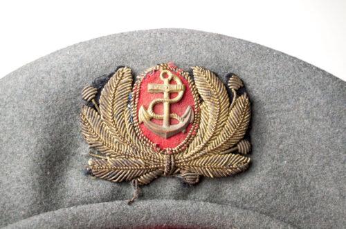 WWII Italian San Marco Batallion Battaglione San Marco Beret (RARE!)