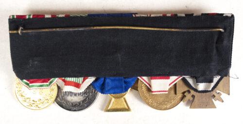 WWIWWII German Police Polizei Medalbar with Polizei Dienstauszeichnung für 25 Jahre