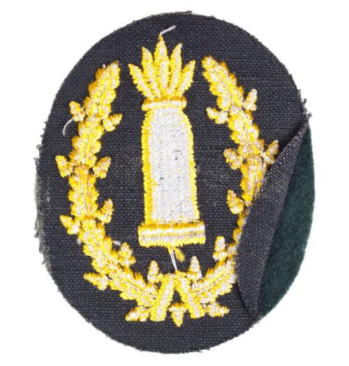 Wehrmacht (Heer) Richtkanonier Artillerie trade badge
