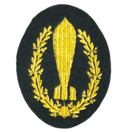 Wehrmacht (Heer) Richtkanonier Nebelwerfer trade badge