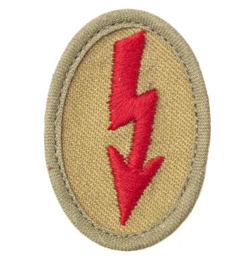 Wehrmacht Heer tropical Ärmelabzeichen Funker Artillerie
