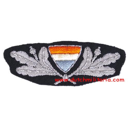 (Belgium) WWII original NSJV Cap badge (Extremely rare!)
