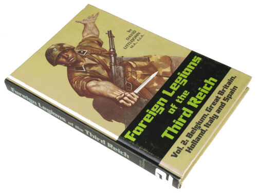 (Book) D. Littlejohn, Foreign Legions of the Third Reich. Vol.2 Belgium, Great Brittain, Holland, Italy and Spain
