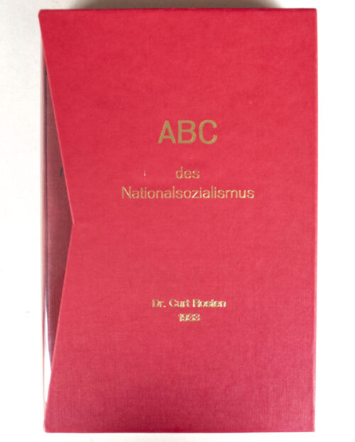 (Book) DAS ADC des Nationalsozialismus (3. Auflage) in collectors slipcase (1933)