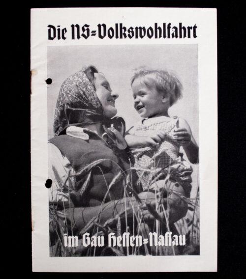(Booklet) Die N.S-Volkswohlfahrt im Gau Hessen-Nassau