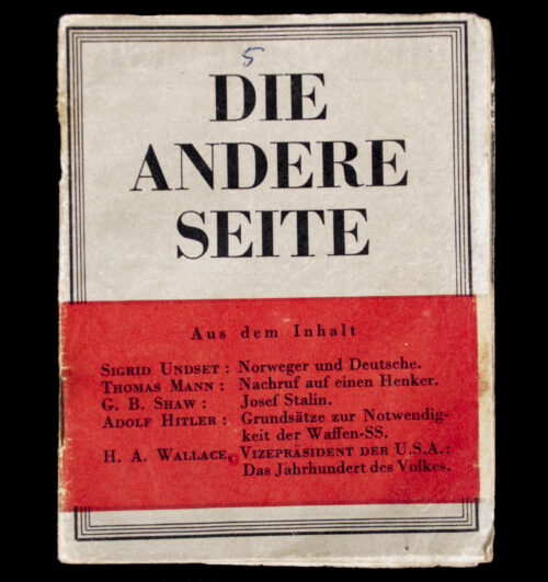 (BookletLeaflet) Die Andere Seite No.5 - G.94 (1943).
