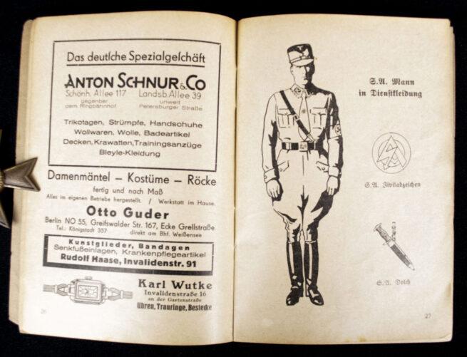 (Brochure) SA und SS Handbuch