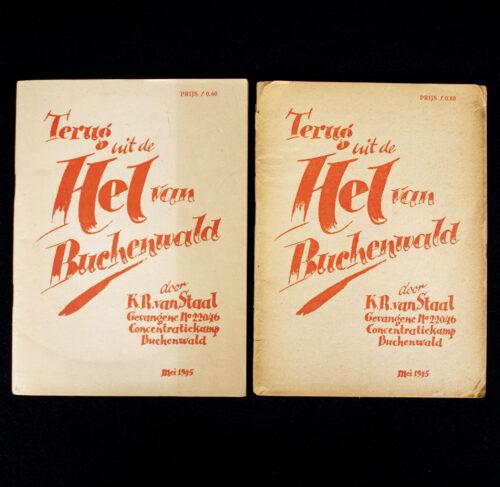 (Brochures) Terug uit de Hel van Buchenwald (2x)