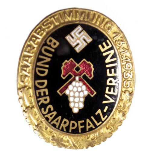 Bund der Saarpfalz Vereine badge