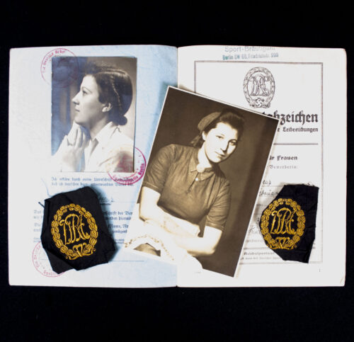 DRA Group with booklet, two emblem and photo