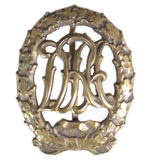 DRA sportabzeichen (Deutscher Reichsausschuss für Leibesübungen) in Bronze