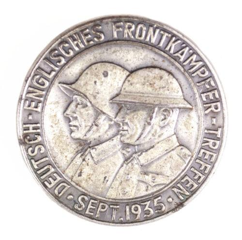 Deutsche-Englisches Frontkämpfer Treffen Sept. 1935 badge