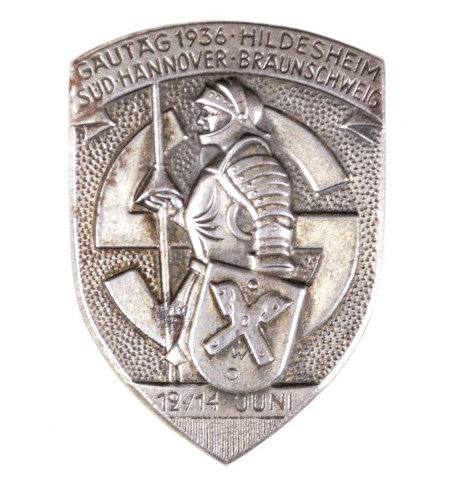 Gautag 1936 Hildesheim Süd Hannover Braunschweig badge