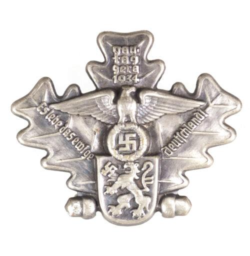 Gautag Gera 1934 Es Lebe das Ewige Deutschland