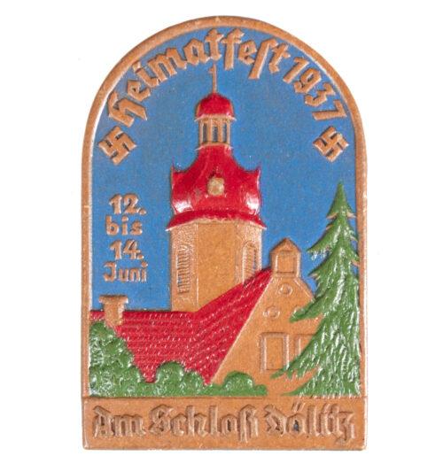 Heimatfest am Schloss Dölitz 12. bis 14 Juli 1937