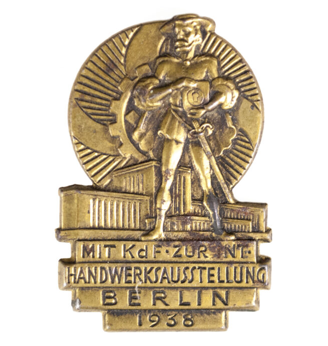 Kraft durch Freude (KDF) Mit KDF zur Int. Handwerksausstellung Berlin 1938