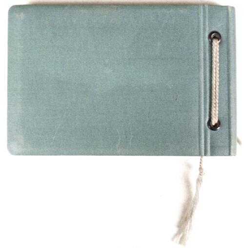 Miniature pocketsize Photo-album (empty)