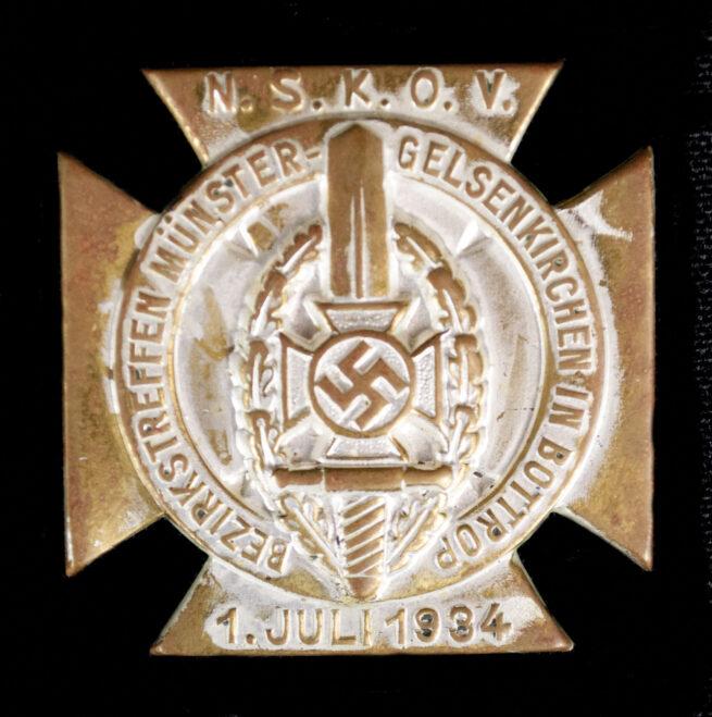 N.S.K.O.V. Bezirkstreffen Münster Gelsenkirchen in Bottrop 1. Juli 1934