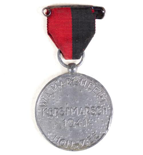 (NSB) WA Marcheert Kerstmarsch 1941 medaille