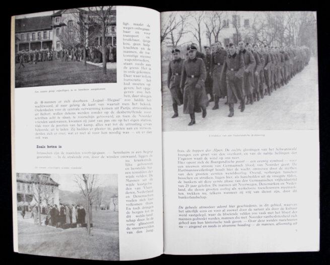 Nederlandsche SS - De Weg tot Germaansche Lotsverbondenheid - Opleidingskamp Sennheim brochure